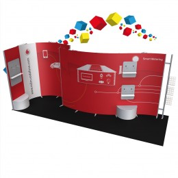 Stand 12m² flexible