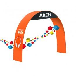 Arche publicitaire pliable pour stand