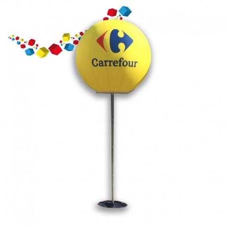 Ballon publicitaire lumineux
