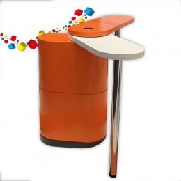 HDG : Le comptoir de stand design et fonctionnel.