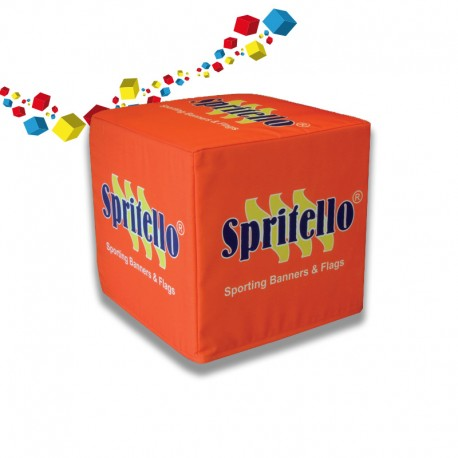 Cubes poufs personnalisés