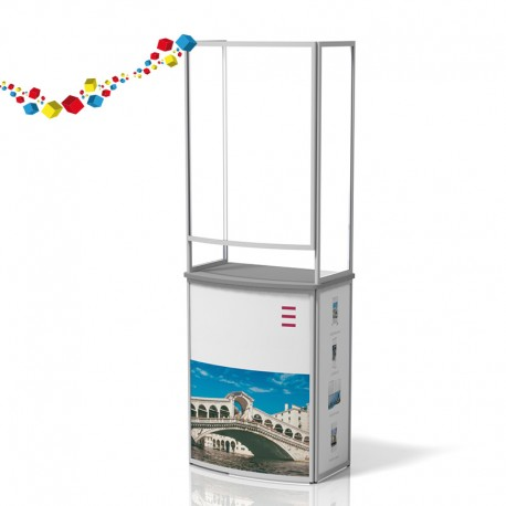 Comptoir de stand pliable personnalisable
