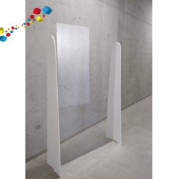 Ecran plexiglas barrière