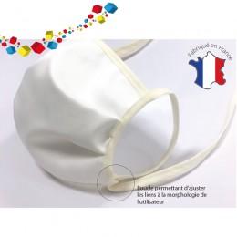 10 masques réutilisables : Fabrication Française