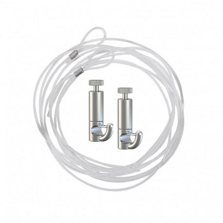 Câble de suspension pour caisson lumineux LED