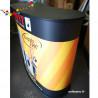 Impression comptoir Easylite 120 courbe