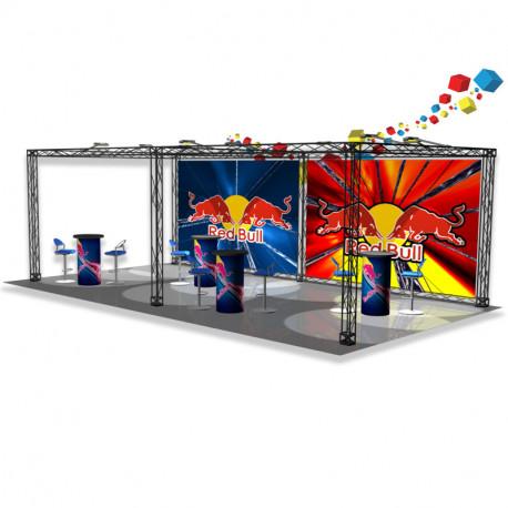 Stand 3X6 treillis composite - ultra léger