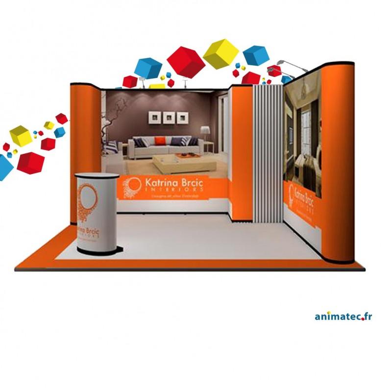 Choisissez un stand pliable complet pour vos salons pro for Stand pliable