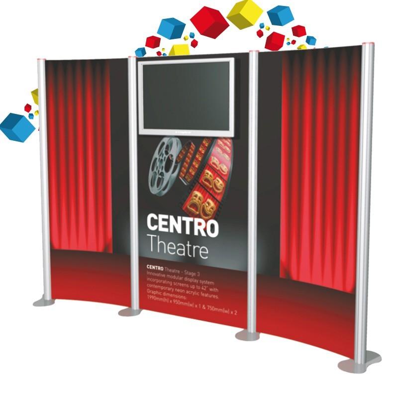 Stand en aluminium pliable et modulable pour vos salons for Stand modulaire aluminium