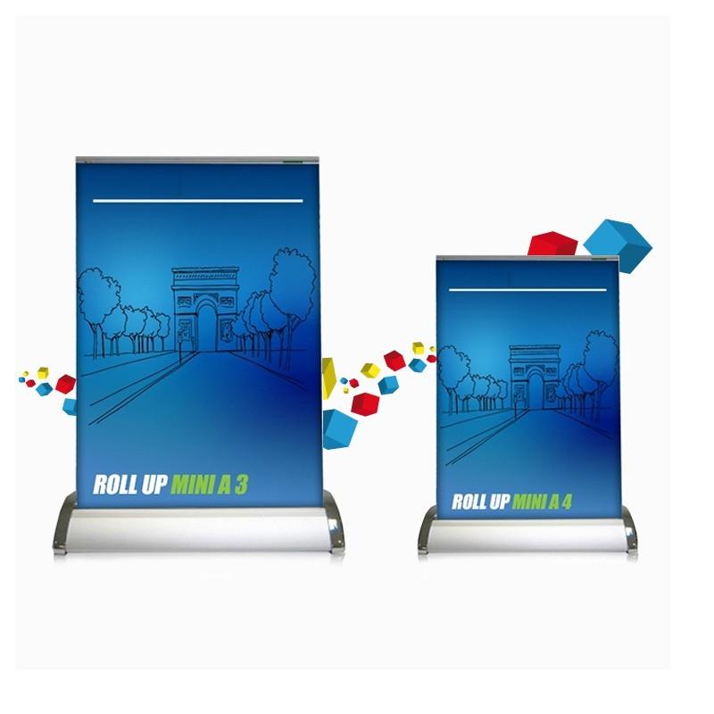 Rollup Enrouleur De Comptoir Format A4 Et A3