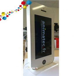 Iphone géant avec écran