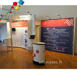 Impression de stand parapluie Nomadic Display