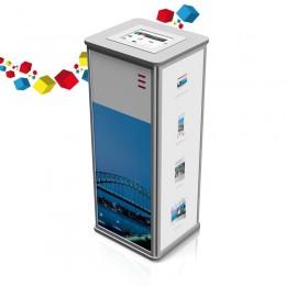 Comptoir de stand pliable avec Ipad intégré